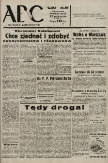 ABC : nowiny codzienne. 1938, nr326 A |PDF|
