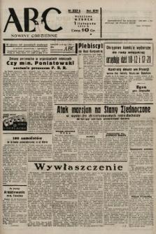 ABC : nowiny codzienne. 1938, nr327 A |PDF|