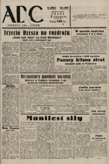 ABC : nowiny codzienne. 1938, nr328 A |PDF|