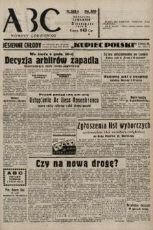 ABC : nowiny codzienne. 1938, nr329 A |PDF|