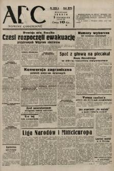 ABC : nowiny codzienne. 1938, nr331 A |PDF|