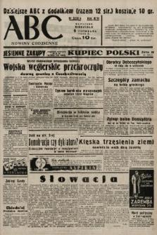 ABC : nowiny codzienne. 1938, nr332 A |PDF|