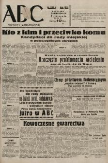 ABC : nowiny codzienne. 1938, nr333 A |PDF|