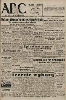 ABC : nowiny codzienne. 1938, nr334 A |PDF|