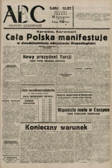 ABC : nowiny codzienne. 1938, nr339 A |PDF|