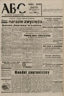ABC : nowiny codzienne. 1938, nr341 A |PDF|