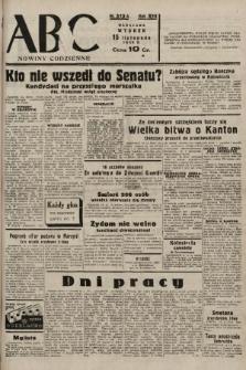 ABC : nowiny codzienne. 1938, nr342 A |PDF|