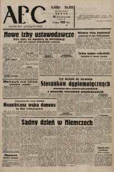 ABC : nowiny codzienne. 1938, nr343 A |PDF|