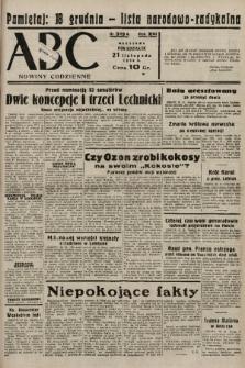 ABC : nowiny codzienne. 1938, nr349 A |PDF|