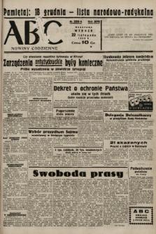 ABC : nowiny codzienne. 1938, nr350 A |PDF|