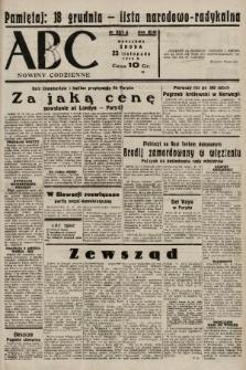 ABC : nowiny codzienne. 1938, nr351 A |PDF|