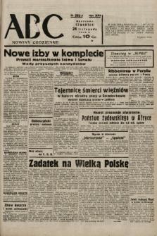 ABC : nowiny codzienne. 1938, nr352 A |PDF|