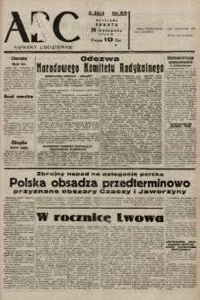 ABC : nowiny codzienne. 1938, nr354 A |PDF|