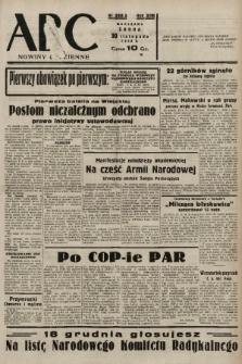 ABC : nowiny codzienne. 1938, nr358 A |PDF|