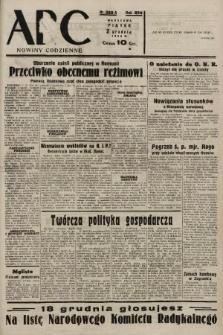 ABC : nowiny codzienne. 1938, nr360 A |PDF|