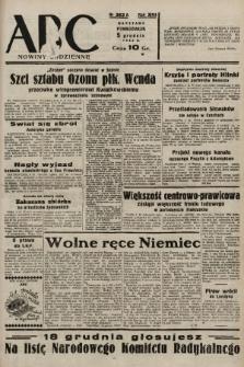 ABC : nowiny codzienne. 1938, nr363 A |PDF|