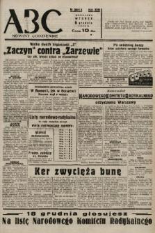 ABC : nowiny codzienne. 1938, nr364 A |PDF|