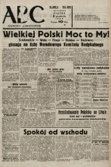 ABC : nowiny codzienne. 1938, nr367 A |PDF|