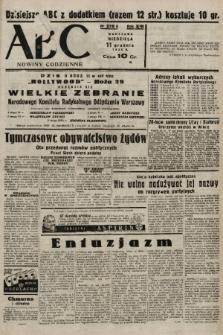 ABC : nowiny codzienne. 1938, nr370 A |PDF|