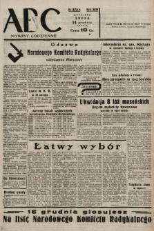 ABC : nowiny codzienne. 1938, nr373 A |PDF|