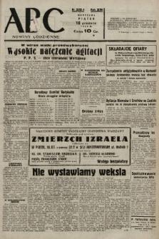 ABC : nowiny codzienne. 1938, nr375 A |PDF|