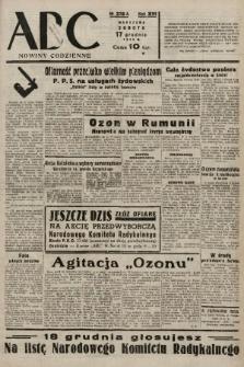ABC : nowiny codzienne. 1938, nr376 A |PDF|