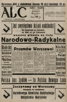 ABC : nowiny codzienne. 1938, nr377 A |PDF|