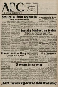 ABC : nowiny codzienne. 1938, nr379 A |PDF|