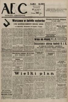 ABC : nowiny codzienne. 1938, nr381 A |PDF|
