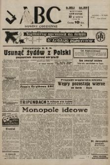 ABC : nowiny codzienne. 1938, nr383 A  PDF 