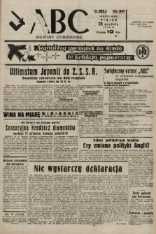 ABC : nowiny codzienne. 1938, nr384 A |PDF|