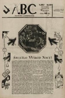 ABC : nowiny codzienne. 1938, nr385 A |PDF|