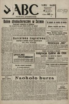 ABC : nowiny codzienne. 1938, nr387 A |PDF|