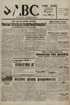 ABC : nowiny codzienne. 1938, nr388 A |PDF|