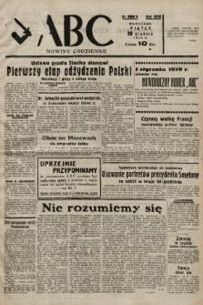 ABC : nowiny codzienne. 1938, nr389 A |PDF|
