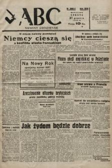 ABC : nowiny codzienne. 1938, nr390 A |PDF|