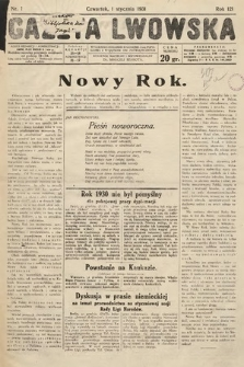 Gazeta Lwowska. 1931, nr1