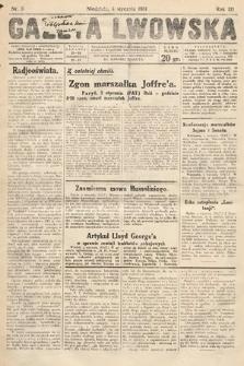 Gazeta Lwowska. 1931, nr3