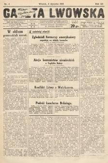 Gazeta Lwowska. 1931, nr4