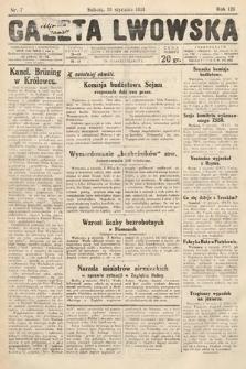 Gazeta Lwowska. 1931, nr7