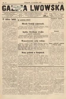 Gazeta Lwowska. 1931, nr11