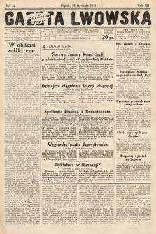 Gazeta Lwowska. 1931, nr12