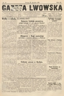 Gazeta Lwowska. 1931, nr16