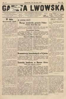Gazeta Lwowska. 1931, nr17