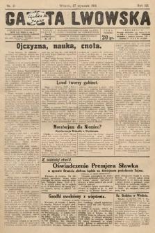 Gazeta Lwowska. 1931, nr21