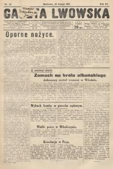 Gazeta Lwowska. 1931, nr43