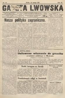 Gazeta Lwowska. 1931, nr45
