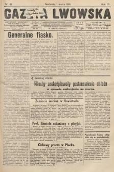 Gazeta Lwowska. 1931, nr49