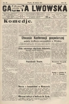 Gazeta Lwowska. 1931, nr65