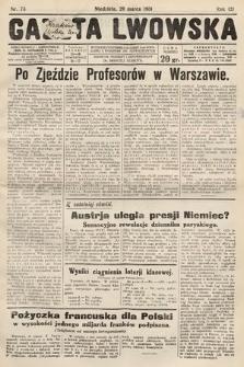 Gazeta Lwowska. 1931, nr73